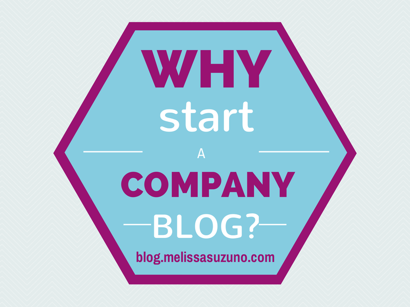 Why Start a Company Blog?