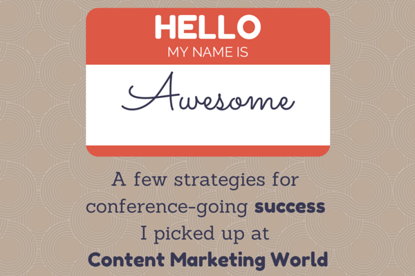 What I Learned at Content Marketing World