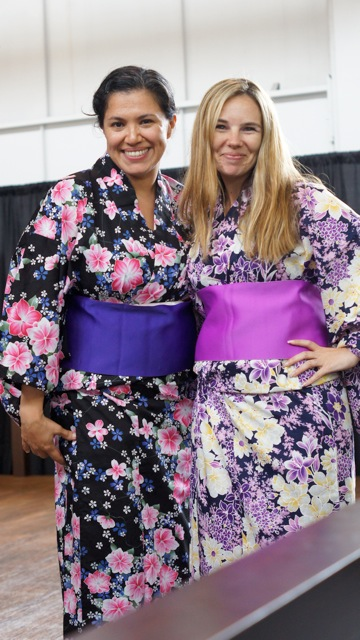 eva and melissa in yukata